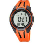 Montre Calypso EPSILON K5703-1 - Montre Dateur Orange Homme