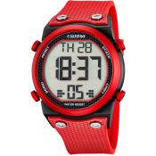 Montre Calypso EPSILON K5705-5 - Montre Dateur Rouge Homme