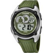 Montre Calypso Digitale Verte K5722-2 - Alarme