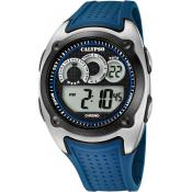Montre Calypso Digitale Bleue K5722-3 - Alarme