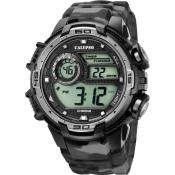 Montre Calypso Chronographe Grise K5723-3 - Alarme
