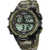 Montre Calypso Chronographe Verte K5723-6 - Alarme