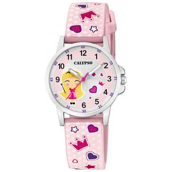 Calypso - Montre Calypso Junior K5776-2 - Montre Enfant Rose