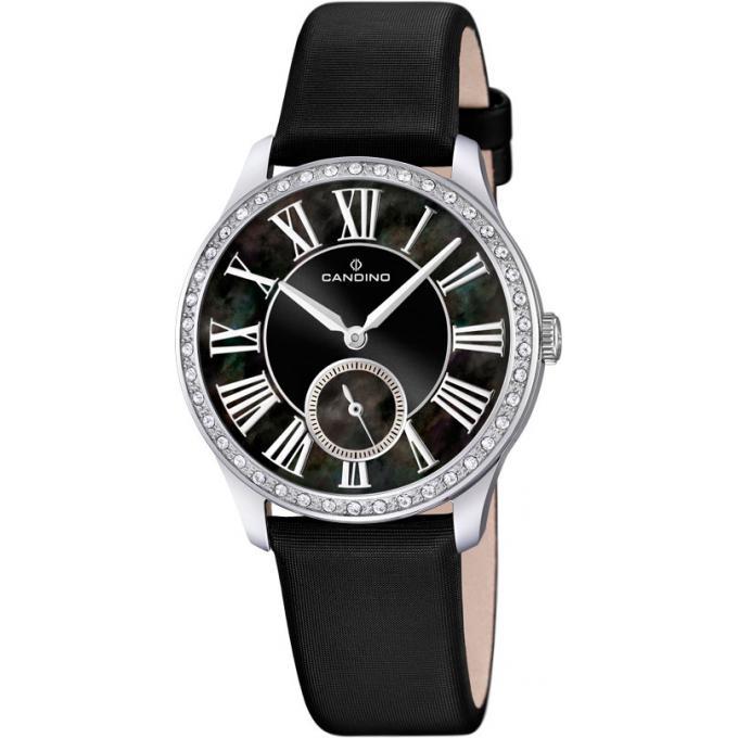 montre candino c4596 3 montre chronographe noire femme sur bijourama montre femme pas cher. Black Bedroom Furniture Sets. Home Design Ideas