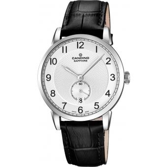 Montre Candino C4591-1 - Montre Ronde Grise Homme