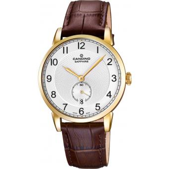 Montre Candino C4592-1 - Montre Ronde Grise Homme