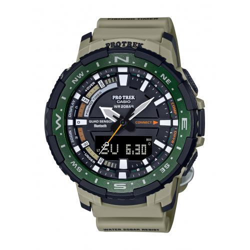 Casio - Montre Homme  Casio PRT-B70-5ER - Montre Casio