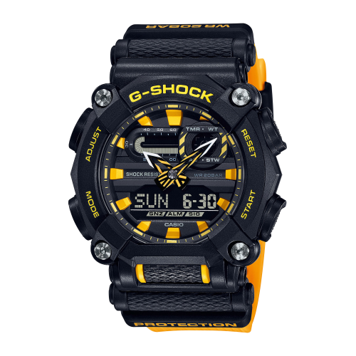 Casio - Montre CASIO GA-900A-1A9ER - Montre Homme - Nouvelle Collection