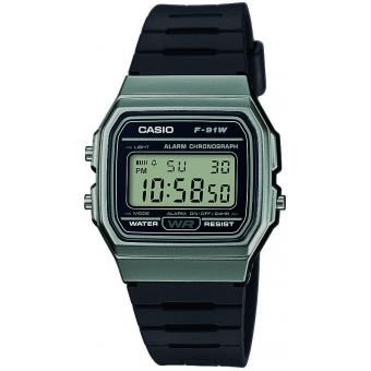 Montre Casio F_91WM_1BEF - Casio Vintage Digital Grise Mixte