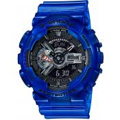 Casio - Montre Casio GA_110CR_2AER - Montre Bleue Homme