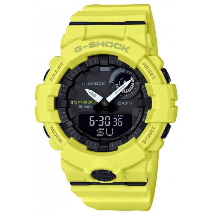 bas prix 9caef ad9aa Montre Casio GBA_800_9AER - Casio G-Shock Bluetooth Smartphone Jaune HOMME  Plus d'infos