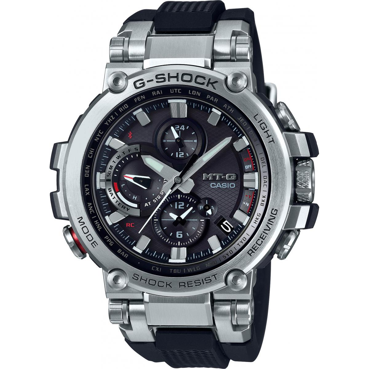 Montre Casio MTG B1000 1AER G Shock MT G Connectée Lunette  jIn5v