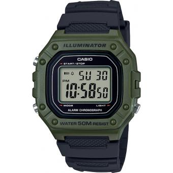 Casio - Montre Casio W-218H-3AVEF - Montre Casio Sport
