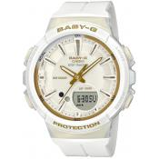 Casio - Montre Casio BABY-G BGS-100GS-7AER - Montre Blanche