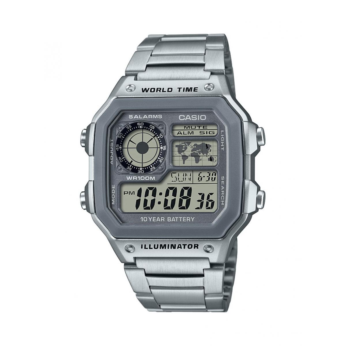 Montre Casio AE-1200WHD-7AVEF - Montre BASIC Homme
