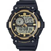 Casio - Montre Casio STANDARD AEQ-200W-9AVEF - Montre Digitale
