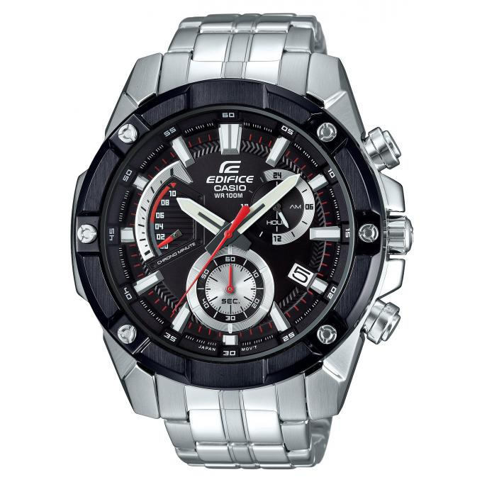 montre casio edifice efr 559db 1avuef montre multifonctions acier argent homme sur bijourama. Black Bedroom Furniture Sets. Home Design Ideas