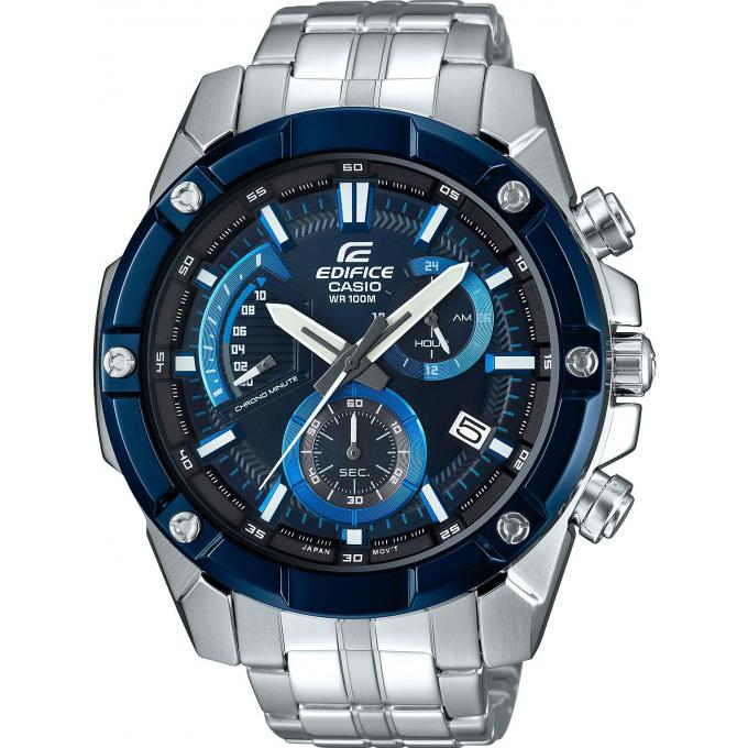 montre casio edifice efr 559db 2avuef montre multifonctions acier argent homme sur bijourama. Black Bedroom Furniture Sets. Home Design Ideas