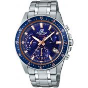 Casio - Montre Casio EDIFICE EFV-540D-2AVUEF - Montre Sport Homme