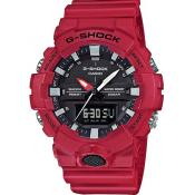 Casio - Montre Casio GA-800-4AER - Montre Casio Rouge