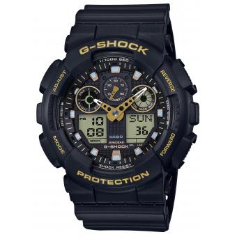 Montre Casio G-Shock Black & Gold GA-100GBX-1A9ER