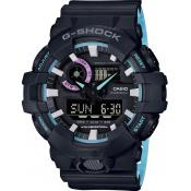 Casio - Montre Casio G-Shock 90' Rave Colors GA-700PC-1AER - Montre Sport Homme
