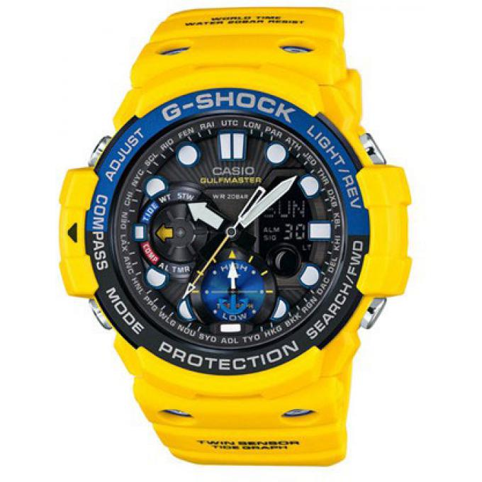 montre casio g shock gn 1000 9aer montre jaune ronde homme sur bijourama montre homme pas. Black Bedroom Furniture Sets. Home Design Ideas