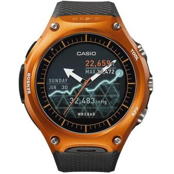 Montre Casio Smart Outdoor WSD-F10RGBAE - Montre Connectée Orange Homme