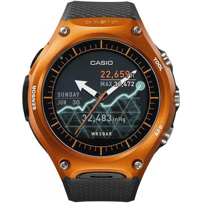 montre casio smart outdoor wsd f10rgbae montre connect e orange homme sur bijourama montre. Black Bedroom Furniture Sets. Home Design Ideas