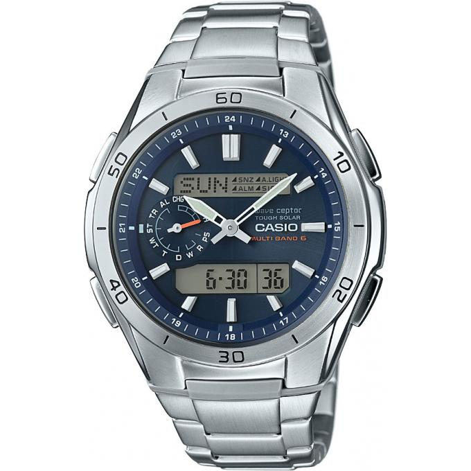 Montre Casio Waveceptor WVA-M650D-2AER - Montre Digital Acier Homme