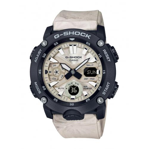 Casio - CASIO MONTRES GA-2000WM-1AER - Montre Rectangulaire