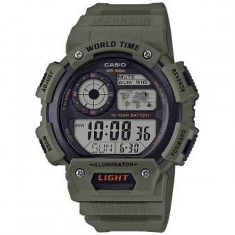 Casio - Montre Casio AE-1400WH-3AVEF - Montre Casio Sport