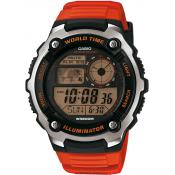 Montre Casio Collection AE-2100W-4AVEF - Montre Digitale Résine Homme