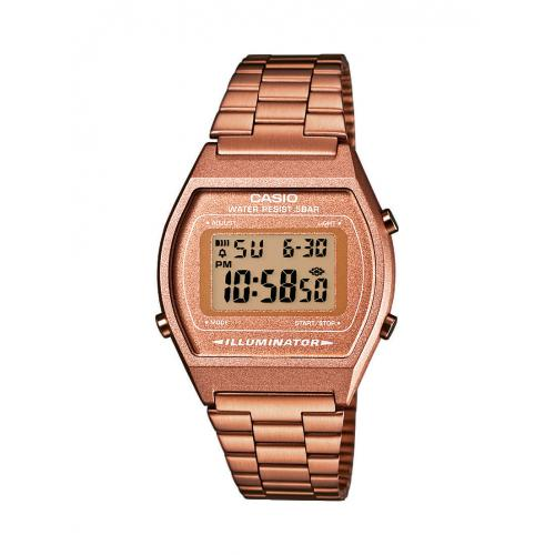 Casio - Montre Casio Retro Vintage B640WC-5AEF - Montre Rectangulaire