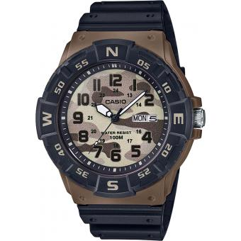 Casio - Montre Casio Casio Collection MRW-220HCM-5BVEF - Montre Noire Homme