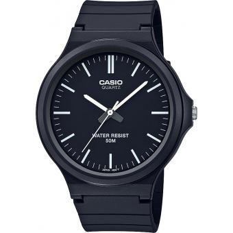 Casio - Montre Casio Casio Collection MW-240-1EVEF - Montre Noire Homme