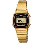 Montre Casio  Chronographe Dorée LA670WEGA-1EF