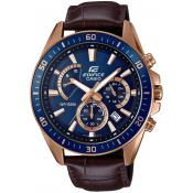 Montre Casio Edifice EFR-552GL-2AVUEF - Montre Chronographe Cuir Croco Homme