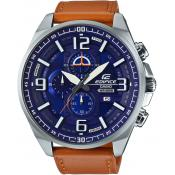 Casio - Montre Casio Edifice EFR-555L-2AVUEF - Montre Homme Cuir