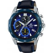 Casio - Montre Casio Edifice EFR-557BL-2AVUEF - Montre Noire Homme