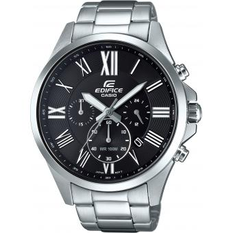 Montre Casio EDIFICE EFV-500D-1AVUEF - Montre Chronographe Analogique Homme