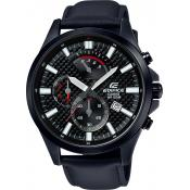 Casio - Montre Casio Edifice EFV-530BL-1AVUEF - Montre Noire Homme