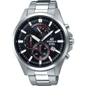 Casio - Montre Casio Edifice EFV-530D-1AVUEF - Montre Chronographe Homme