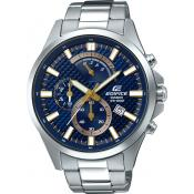Casio - Montre Casio Edifice EFV-530D-2AVUEF - Montre Chronographe Homme