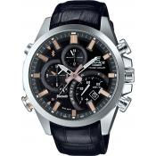 Casio - Montre Casio NEW EDIFICE EQB-500L-1AER - Montre Homme Cuir