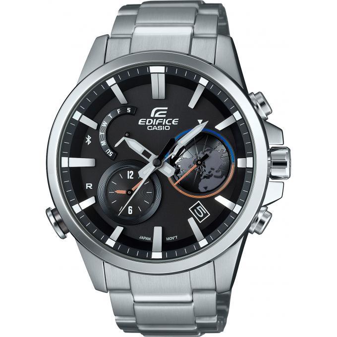 montre casio new edifice eqb 600d 1aer montre connect e design homme sur bijourama montre. Black Bedroom Furniture Sets. Home Design Ideas