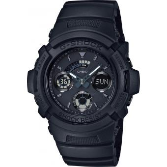 Montre Casio G-SHOCK AW-591BB-1AER - Montre Bleue Multifonction Homme