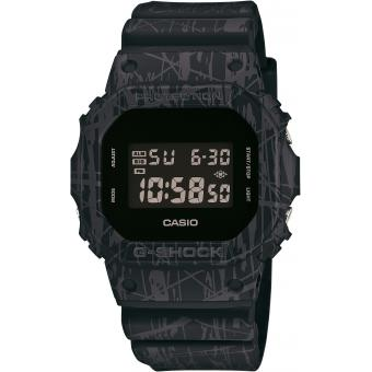 Montre Casio G-Shock DW-5600SL-1ER - Montre Digitale Carrée Homme