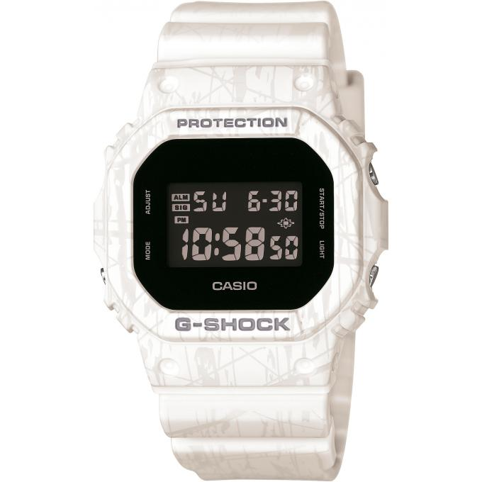 montre casio g shock dw 5600sl 7er montre digitale blanche homme sur bijourama montre homme. Black Bedroom Furniture Sets. Home Design Ideas