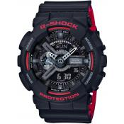 Casio - Montre Casio G-Shock GA-110HR-1AER - Montre Bleue Homme